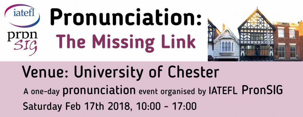 Pronunciation Sig Event In Chester Pronpack